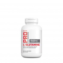 GNC Pro Performance® L-Glutamine 1500 mg, Glutamina, 90 cps