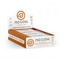 No Cow® Protein Bar, Baton Proteic, cu Aroma de Ciocolata si Unt de Arahide, 60g