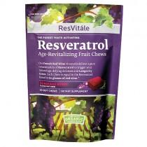 ResVitale Resveratrol Age-Revitalizing Fruit Chews - Wild Berry
