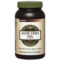GNC Natural Brand Aloe Vera Gel, 90 Capsule Gelatinoase