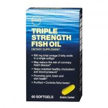 GNC Triple Strength Ulei de Peste, 60 Capsule