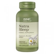 GNC Herbal Plus Natra Sleep, 100 Capsule Vegetale