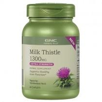 GNC Herbal Plus Silimarina 1300 mg, 60 Tablete Vegetale