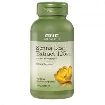GNC Herbal Plus Extract din Frunze de Senna 125 mg,100 Capsule Vegetale