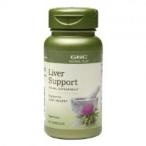 GNC Herbal Plus Suport Ficat, 50 Capsule Vegetale