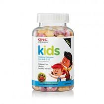 GNC Milestones Kids Calciu pentru Copii 2-12 ani, 120 Jeleuri Gumate cu Aroma de Fructe