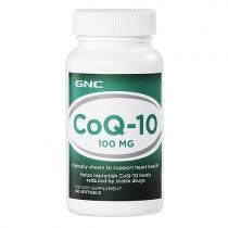 GNC Coenzima Q-10 100 mg 60 Capsule Gelatinoase
