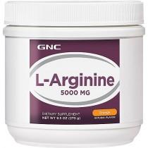 GNC L-Arginina 5000 mg Pulbere cu Aroma de Portocale, 270 g