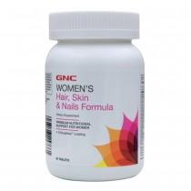 GNC Women's Hair, Skin, Nails, Formula pentru Par, Piele si Unghii, 90 tb