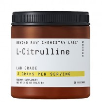 GNC Beyond Raw Chemistry Labs L-Citrulina 3000 mg, 91.5 g