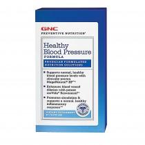 GNC Preventive Nutrition Formula pentru Reglarea Tensiunii Arteriale, 90 Capsule