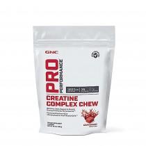 GNC Pro Performance® Creatine Complex Chew, Complex de Creatina 3000 mg, cu Aroma de Cirese, 72 Caramele