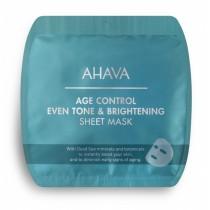 Ahava-Age Control Even Tone & Brightening Sheet Mask, 17 g