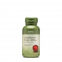 GNC Herbal Plus® Cranberry Fruit 500 mg, Extract din Fruct de Merisor, 90 cps