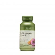 GNC Herbal Plus Echinacea si Vitamina C, 60 Capsule