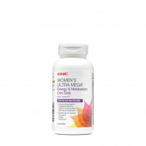 GNC Women's Ultra Mega Energie si Metabolism, One Daily, 60 Tablete
