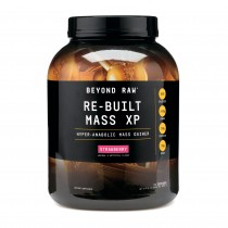 GNC Beyond Raw Re-Built Mass XP cu Aroma de Capsuni, 2816 g