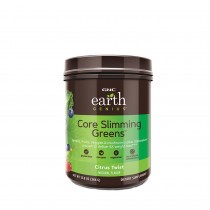 GNC Earth Genius Core Slimming Greens cu Aroma de Mix de Citrice, 364 g