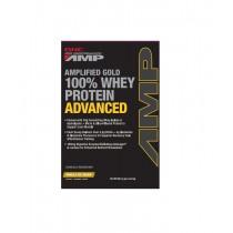 GNC AMP Gold Advanced 100% Proteina din Zer cu Aroma de Vanilie, 29.7 g