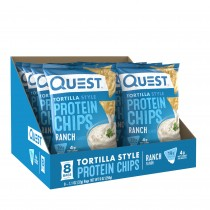 Quest Nutrition Chipsuri Tortilla cu Aroma de Ranch, 32g