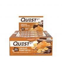 Quest® Protein Bar, Baton Proteic, cu Aroma de Ciocolata si Unt de Arahide, 60g