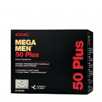 GNC Mega Men 50 Plus Vitapak - Program Complet, 30 Pachetele