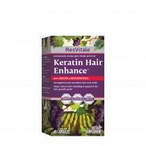 ResVitale™ Keratin Hair Enhance™ cu Biotina si Resveratrol, 60 capsule