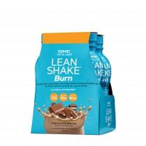 GNC Total Lean® Lean Shake™ Burn, Shake Proteic RTD, cu Aroma de Ciocolata si Cafea, 414 ml