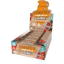 The Carb Killa® Go Nuts™, Baton Proteic Vegan, cu Aroma de Arahide Sarate, 40g