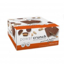 Power Crunch® Protein Energy Bar, Napolitana Proteica cu Aroma de Unt de Arahide si Ciocolata, 40 g