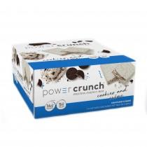 Power Crunch® Protein Energy Bar, Napolitana Proteica, cu Aroma de Biscuiti si Frisca, 40 g