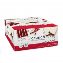 Power Crunch® Protein Energy Bar, Napolitana Proteica, cu Aroma de Red Velvet, 40g