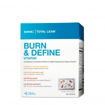 GNC Total Lean® Burn and Define Vitapak®, Program Complet de Slabit, 30 pachete