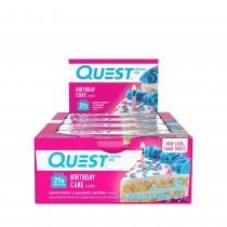 Quest® Protein Bar, Baton Proteic, cu Aroma de Tort Aniversar, 60g