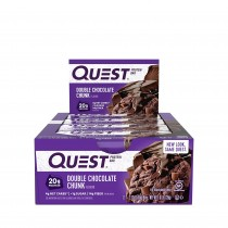 Quest® Protein Bar, Baton Proteic, cu Aroma de Ciocolata, 60g