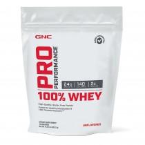 GNC Pro Performance® 100% Whey, Proteina din Zer Fara Aroma, 403.2g
