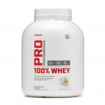 GNC Pro Performance® 100% Whey, Proteina din Zer, cu Aroma de Vanilie, 2176 g