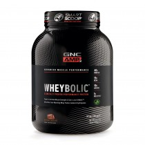 GNC AMP Wheybolic™, Proteina din Zer, cu Aroma Naturala de Ciocolata, 1625 g