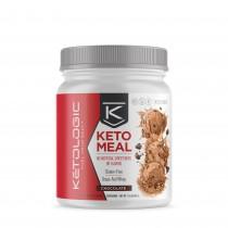 KetoLogic® Keto Meal™, Proteina, cu Aroma de Ciocolata, 880g