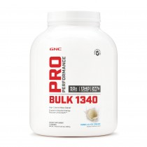GNC Pro Performance® Bulk 1340, Proteina din Zer, cu Aroma Vanilie, 3240 g