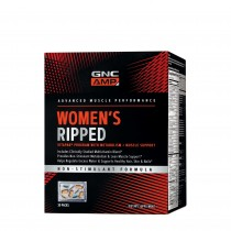 GNC AMP Women's Ripped Vitapak® Complex de Multivitamine Pentru Femei- Non Stimulent, 30 Pachetele