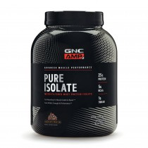GNC AMP Pure Isolate, Proteina Izolata din Zer, cu Aroma de Glazura de Ciocolata,  2415 g