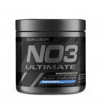 Cellucor® NO3 Ultimate™, Formula Pre-Workout, cu Aroma de Zmeura Albastra, 210 g