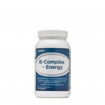 GNC B-Complex + Energy, B Complex + Formula Energizanta, 120 cps
