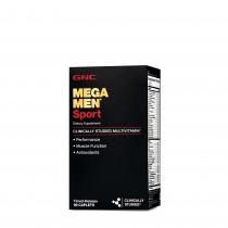 GNC Mega Men® Sport, Complex de Multivitamine pentru Barbati, 90 tb