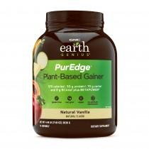 GNC Earth Genius™ PurEdge™ Gainer, Proteina Vegana, cu Aroma de Vanilie Naturala, 2016 g