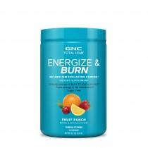 GNC Total Lean® Energize & Burn cu Aroma de Punch de Fructe, 276g