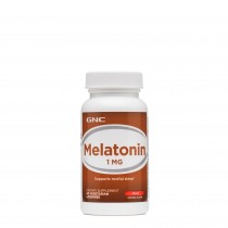 GNC Melatonin 1 mg cu Aroma de Cirese, 60 Tablete Vegetale