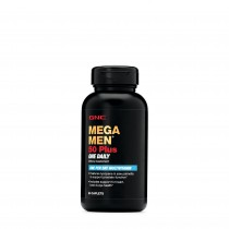 GNC Mega Men® 50 Plus One Daily, Complex de Multivitamine Pentru Barbati, 60 tb