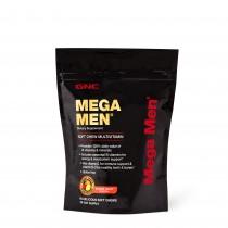 GNC Mega Men® Soft Chews, Complex de Multivitamine Pentru Barbati, cu Gust de Fructe Asortate, 60 Caramele